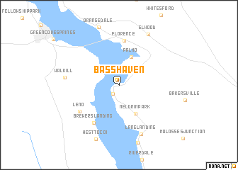 map of Bass Haven