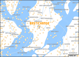 map of Basti Chānde