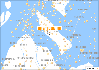 map of Basti Dogiān
