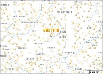 map of Baština