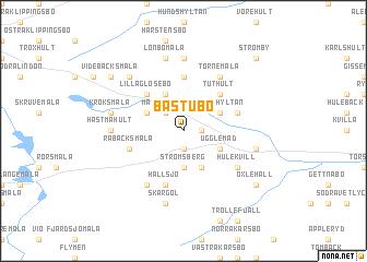 map of Bastubo