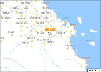 map of Basud