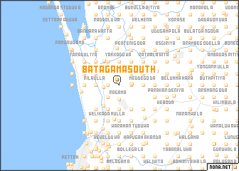 map of Batagama South