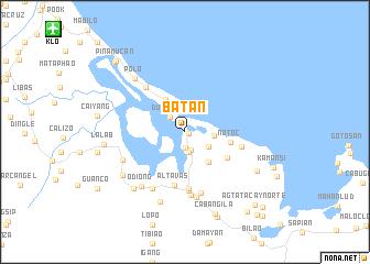 map of Batan