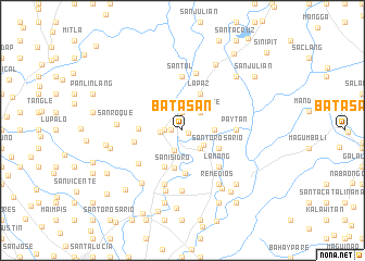 map of Batasan