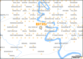 map of Bātāsi