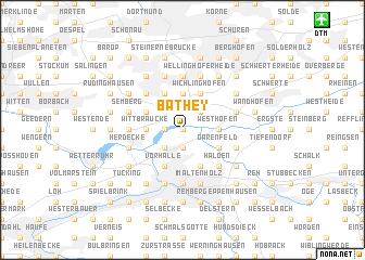 map of Bathey
