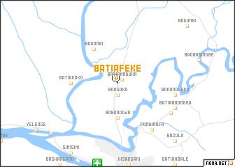 map of Batiafeke