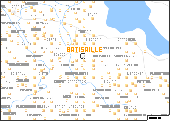 map of Batisaille