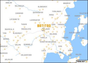 map of Batitao
