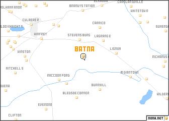 Batna (United States - USA) map - nona.net