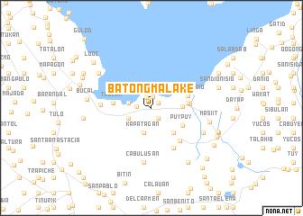 map of Batong Malake