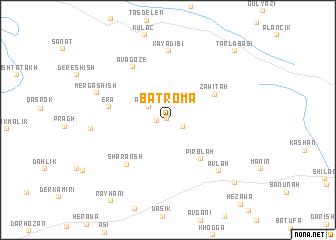 map of Batroma