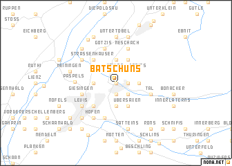 map of Batschuns