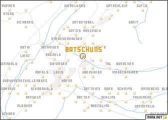 map of Batschuns