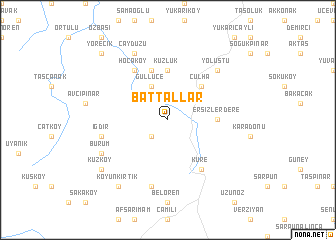 map of Battallar