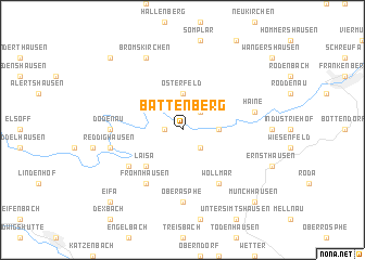 map of Battenberg