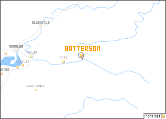 map of Batterson