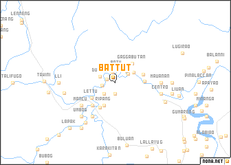 map of Battut