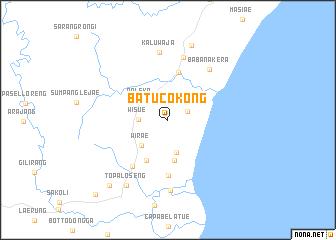 map of Batucokong