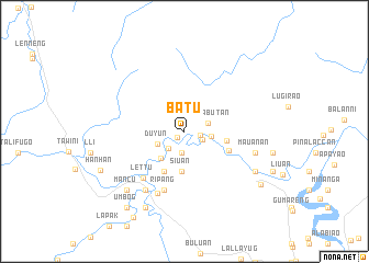 map of Batu