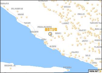 map of Batva