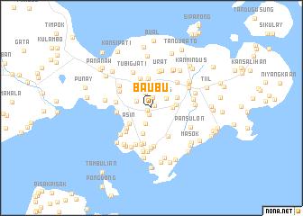map of Baubu