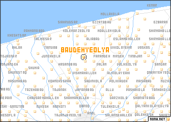 map of Bā\