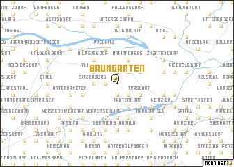 map of Baumgarten