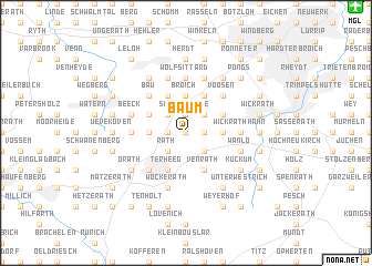map of Baum