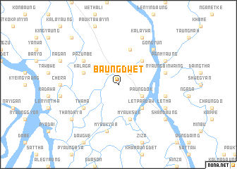 map of Baungdwet