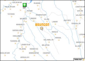 Baungon Philippines Map Nona Net