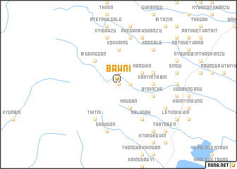 map of Bawni
