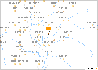 map of Baw
