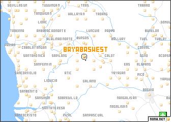map of Bayabas West