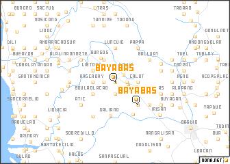 map of Bayabas