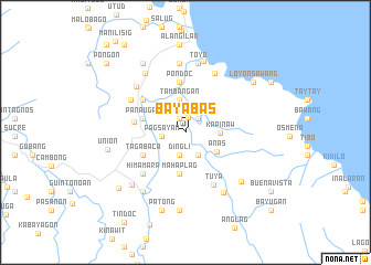 map of Bayabas