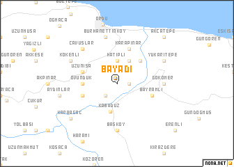map of Bayadı