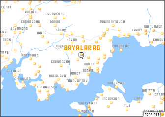 map of Bayalarag
