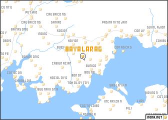 map of Bayalarag