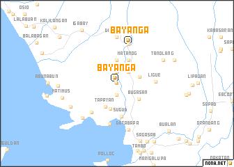 map of Bayañga