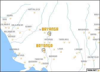 map of Bayanga