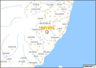 map of Bayang