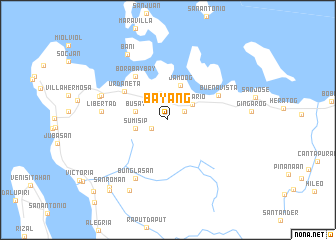 map of Bayang