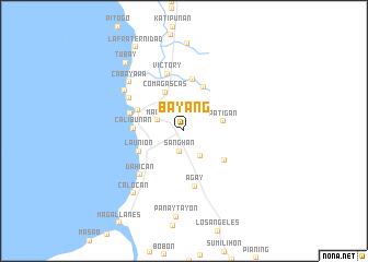 map of Bay-ang