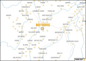 map of Bayaong
