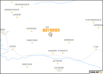 map of Bayaran