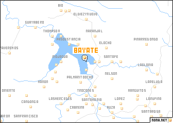 map of Bayate
