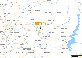 map of Baybay