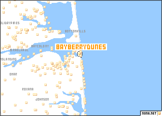 map of Bayberry Dunes